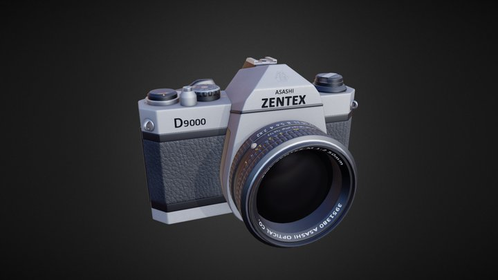 Photo Camera (fictional brand). 3D Model