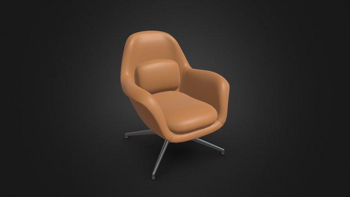 Modernist chair 3D Model