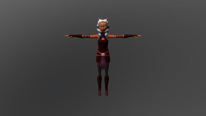Ahsoka Tano 3D Model