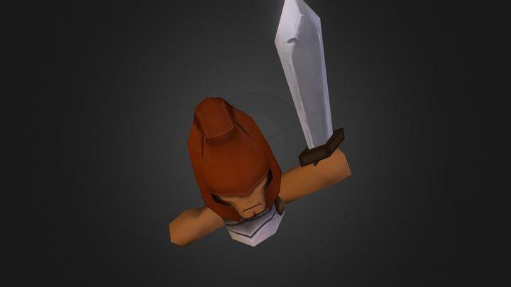 Sword Enemy 3D Model