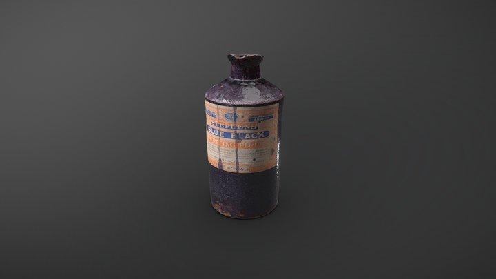 Stoneware Ink Bottle 3D Model