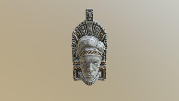 Mayan mask 3D Model