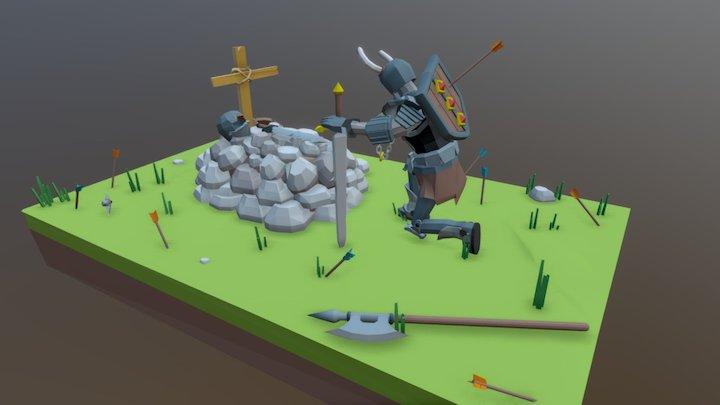 Loss of a Friend 3D Model