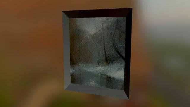 "Posa Ede: ""Walk in the Woods"" 3D Model"