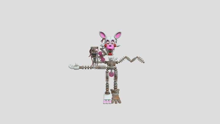 The-mangle-help-wanted-fnaf 3D Model