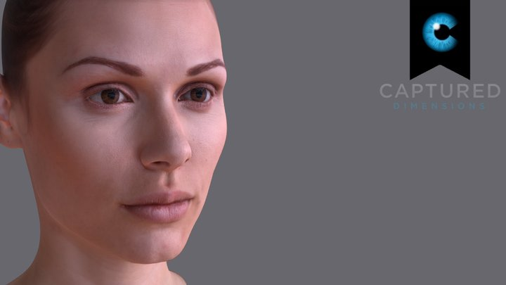 CDMR_Reference_Female_Head_Scan 3D Model