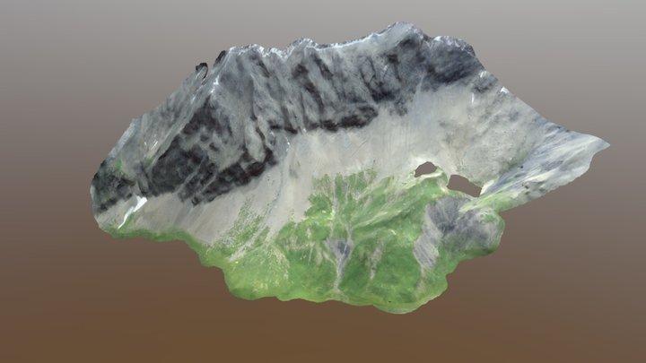 Col du Sanetsch (preliminary model) 3D Model