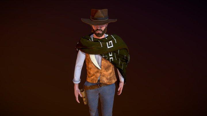 Cowboy (Blondie) 3D Model