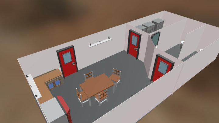 Modulaire projet BAC 2017 3D Model