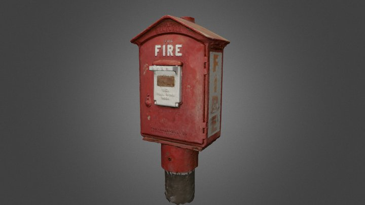San Francisco fire alarm 3D Model