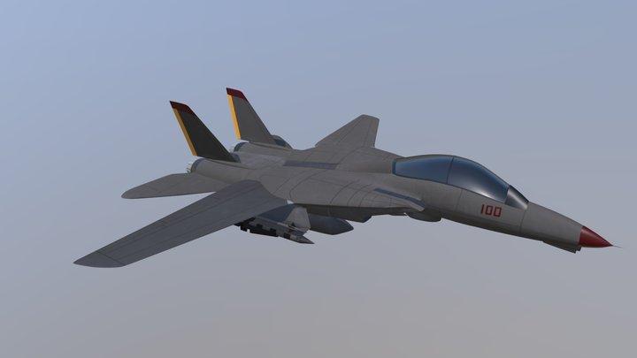F-14A Tomcat 3D Model