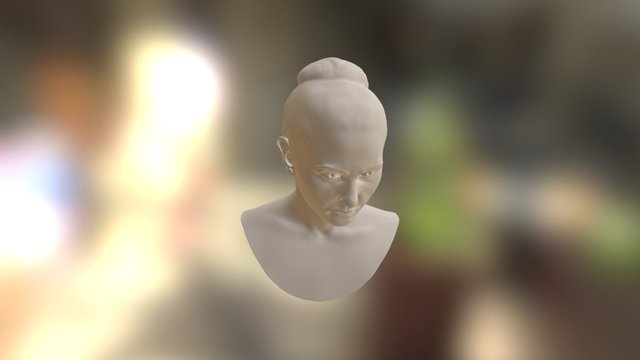 Selfportrait 3D Model