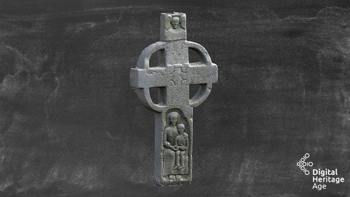 ME005-094004 Cross Churhyard Cross1688 3D Model