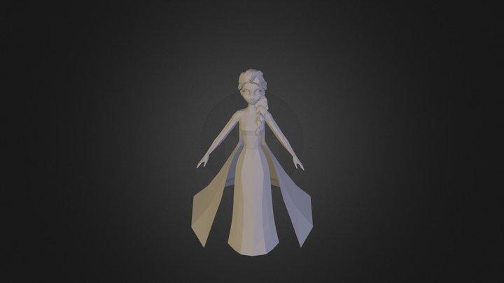Frozen- Elsa 3D Model