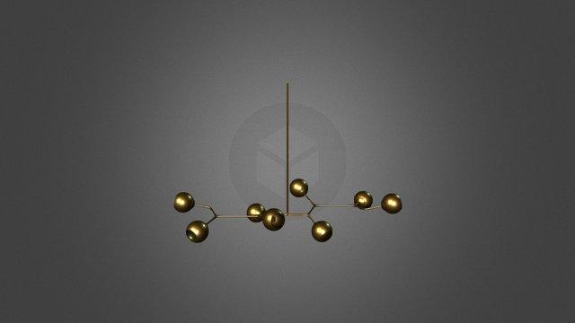 Branch Light 3D Model