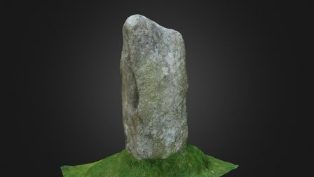 Hurlers - North Circle - Standing Stone Scan A 3D Model