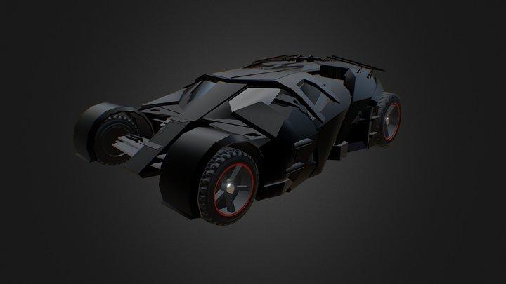 Bat Mobile 3D Model