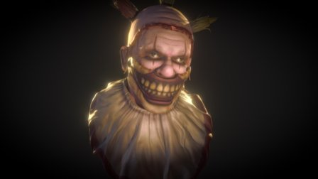 Twisty the Clown 3D Model