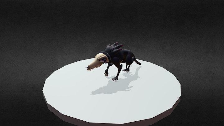 Beast Walk Anim 3D Model