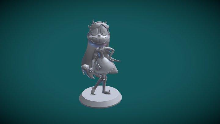Star Butterlfy 3D Model