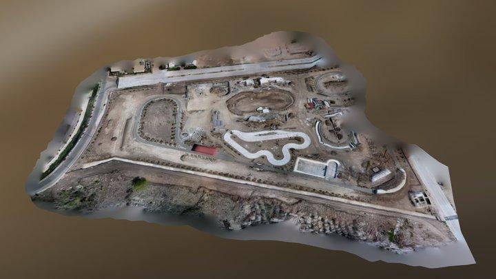 Parque Navojoa 3D 3D Model