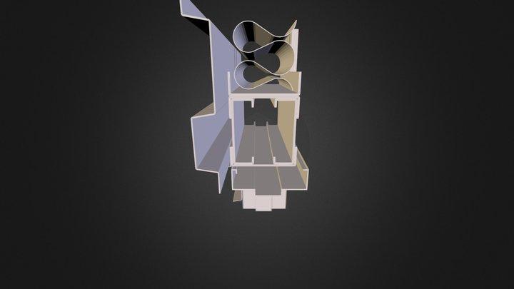 Metal Sample Detail 3D Model