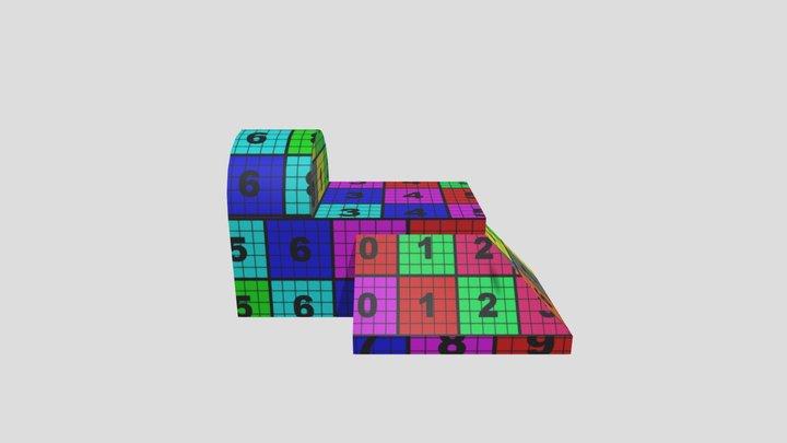 UV project dig4780 3D Model