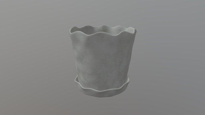 Big Planter 3D Model