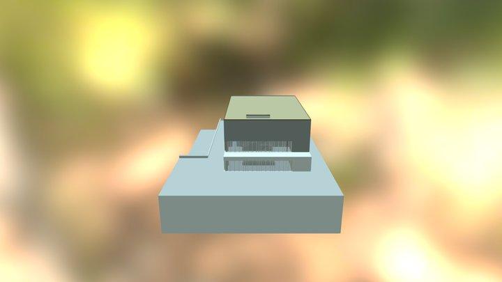 Neue Turnhalle 3D Model