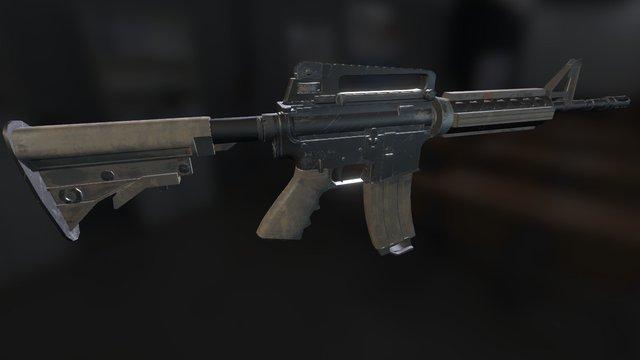 M4a DDO 3D Model