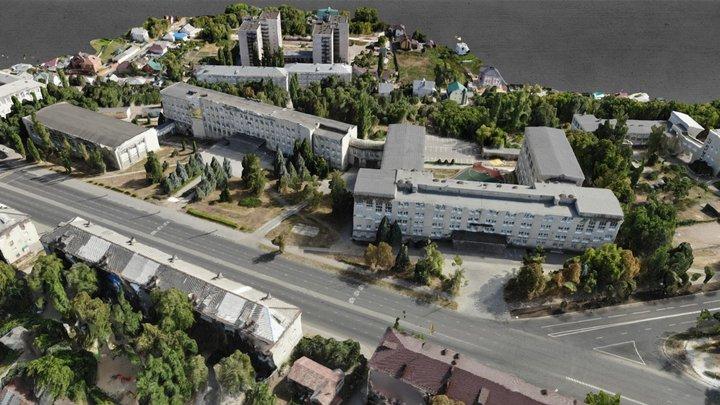 ЛГПУ имени П.П. Семенова-Тян-Шанского 3D Model
