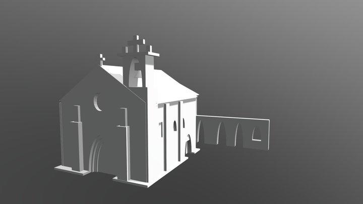 T42 Igreja da Ermida 3D Model