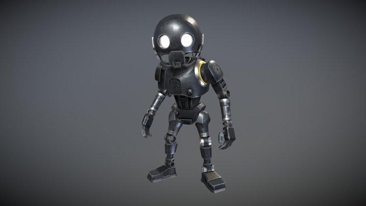 K-2SO Star Wars 3D Model