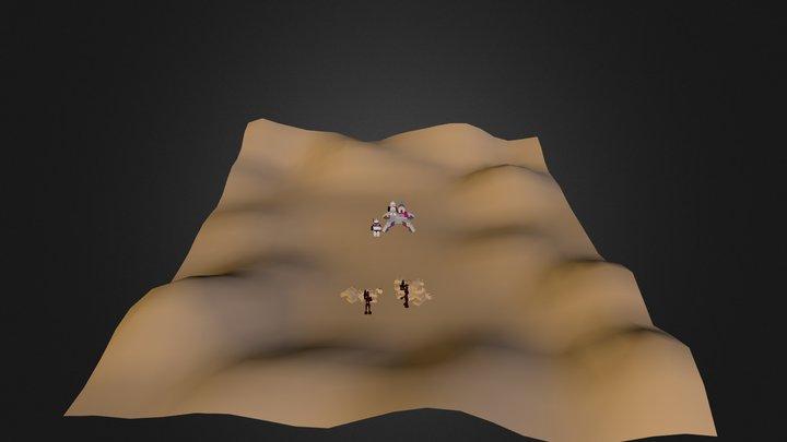 Lego Elite Clones vs. Commando Droid 3D Model