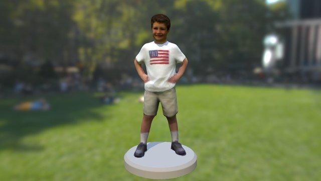 Leo Baushke 3D Model