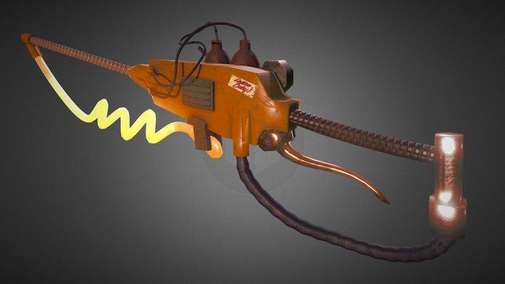 Steampunk Heat Sword 3D Model