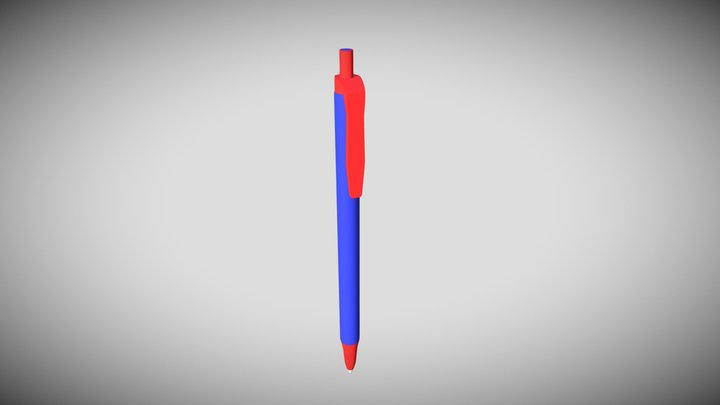 Office pen, penna da ufficio 3D Model