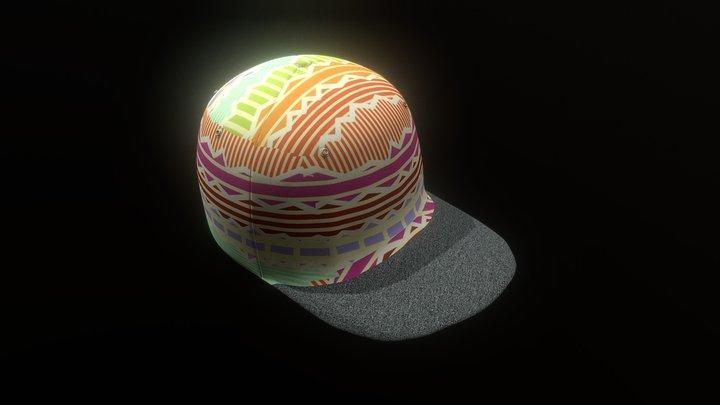 Hat Cap +190 Texture Variants 3D Model