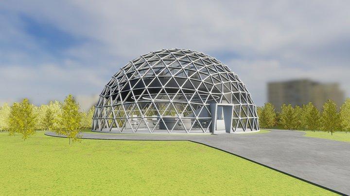 Solardome - 15m 3D Model
