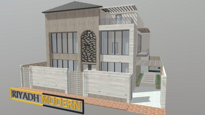 HOME MODERN 4 3D Model