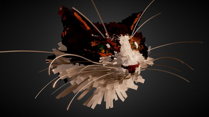 Cat - Tilt Brush 3D Model