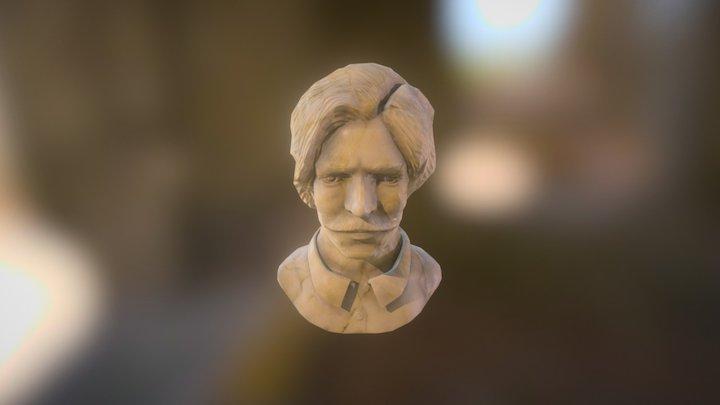 Mr Magic Man - Bust 3D Model