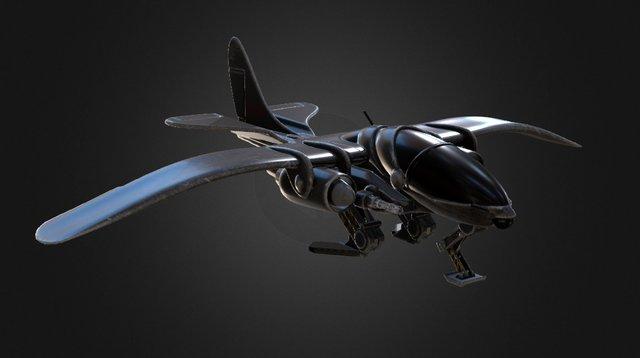 Aircraft AQ-56 Executor - future 3D Model