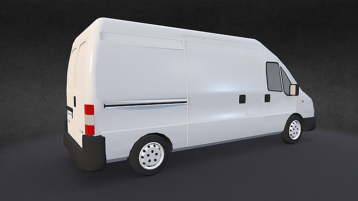 Fiat Ducato Maxi (LWB) Rev.1 3D Model