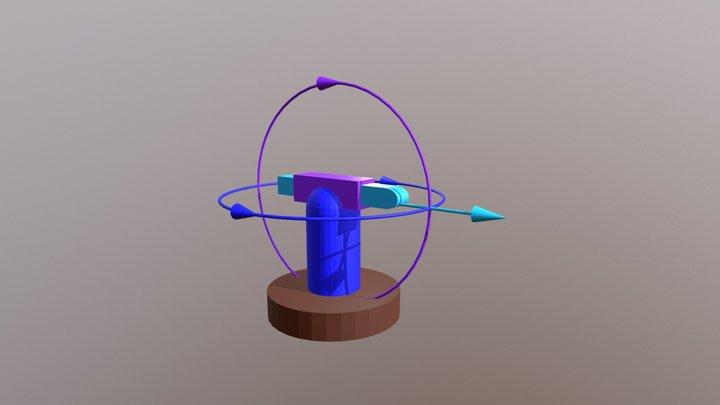 Kinematický reťazec RRT 3D Model