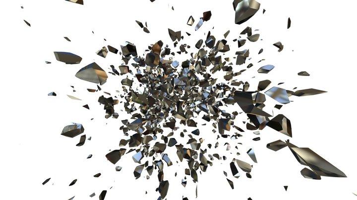 Sphere Explosion 3D Model