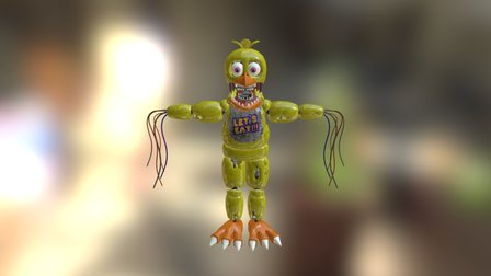 Withered Chica (EverythingAnimations) 3D Model