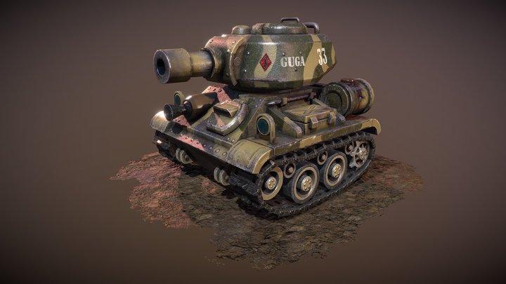 GUGA 3D Model
