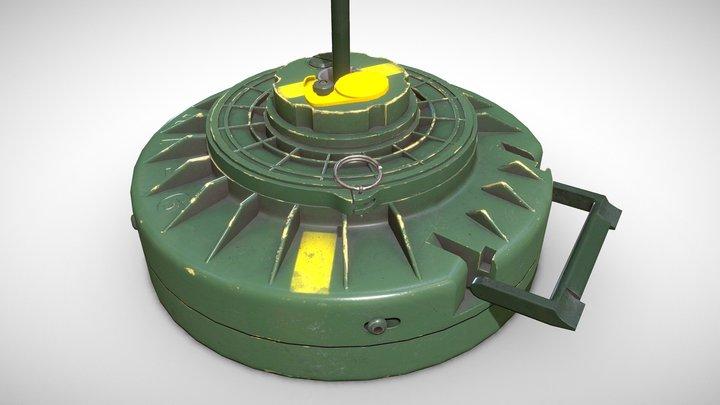 Anti-tank Mine TMRP-6 3D Model