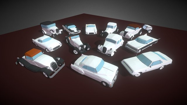SmallCars - Classic 3D Model